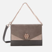Ted Baker Women's Vierra Flip Clasp Chain Det Cross Body Bag - Taupe