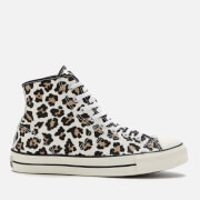 Converse Archive Print Lucky Star Hi-Top Trainers - Driftwood/Light Fawn/Black
