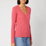 Polo Ralph Lauren Women's Kimberly Classic Long Sleeve Jumper - Geranium Heather
