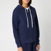Polo Ralph Lauren Women's Hooded Zip Sweatshirt - Cruise Navy