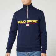 Polo Sport Ralph Lauren Men's Long Sleeve Quarter Zip - Cruise Navy