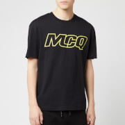 McQ Alexander McQueen Men's Dropped Shoulder McQ T-Shirt - Darkest Black