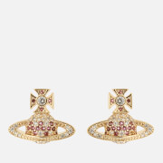 Vivienne Westwood Women's Virginia Bas Relief Earrings - Gold White