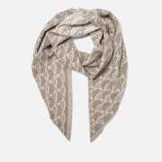 Vivienne Westwood Women's One All Over Logo Scarf - Pink-Sand