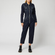 Levi's Women's Made and Crafted Western Boiler Suit - Raw Indigo