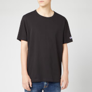 Champion Men's Sleeve Logo Crew Neck T-Shirt - Black