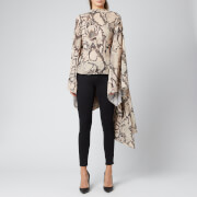 Solace London Women's Ali Top - Taupe Snake Print