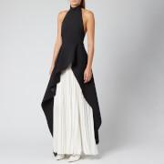 Solace London Women's Lavinia Maxi Dress - Black/Cream