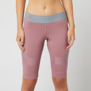 adidas by Stella McCartney Women's Hybrid Shorts - Blush Mauve