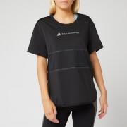 adidas by Stella McCartney Women's Run Loose Short Sleeve T-Shirt - Black