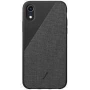 Native Union Clic Canvas iPhone XR Case - Black