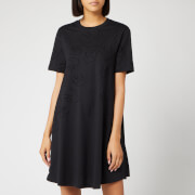 McQ Alexander McQueen Women's Babydoll Dress - Darkest Black