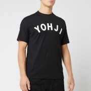 Y-3 Men's Yohji Letter Short Sleeve T-Shirt - Black/Off White