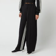 Y-3 Women's 3 Stripe Wide Track Pants - Black