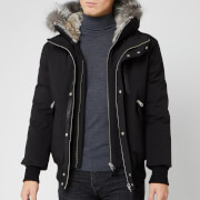 Mackage Men's Dixon Fur Bomber Jacket - Black