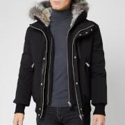 Mackage Men's Dixon Fur Bomber Jacket - Black