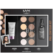 NYX Professional Makeup Pro Contour Gift Set (Worth £40.00)