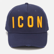 Dsquared2 Men's Icon Cap - Navy Ocra
