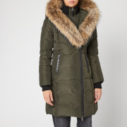 Mackage Women's Kay Long Classic Down Coat - Army