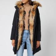Woolrich Women's Luxury Boulder Coat - Black
