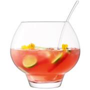 LSA Rum Punchbowl & Ladle Clear - 27cm