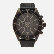 BOSS Hugo Boss Men's Ocean Edition Mesh Strap Watch - Rouge Black