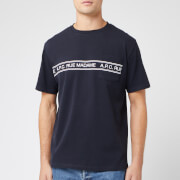A.P.C. Men's Rue Madame T-Shirt - Iak Dark Navy
