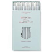 Cire Trudon Bougies De La Madeleine Unscented Dinner Candles - Grey (Set of 6)