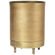 Broste Copenhagen Hadar Brass Flowerpot - Large