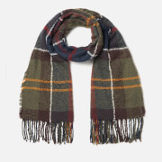 Barbour Women's Tartan Boucle Scarf - Classic
