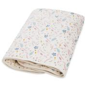 Cam Cam Baby Blanket - Pressed Leaves Rose