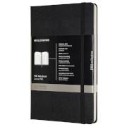 Moleskine Pro Hardcover Large Notebook - Black