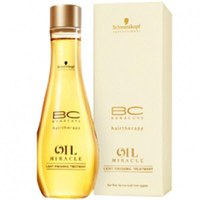 Schwarzkopf BC Hairtherapy Oil Miracle Light Finishing Treatment for Fine/Normal Hair (100 ml)