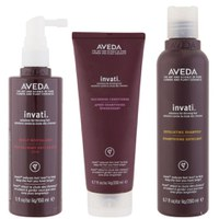 Aveda Invati Trio - Shampoo, Conditioner & Scalp Revitalizer