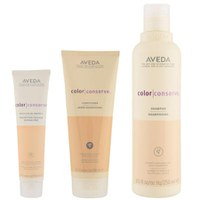 Aveda Colour Conserve Trio-Shampoo, Conditioner & Daily Colour Protect