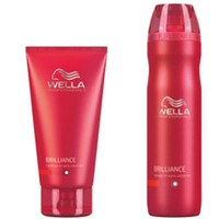 Wella Professionals Brilliance Duo per capelli normali, sottili o colorati - shampoo e balsamo