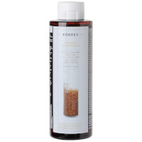 KORRES Shampoing Rice Proteins and Linden pour cheveux fins (250ml)