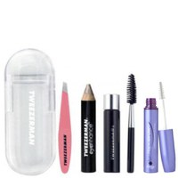 L'Ultimate Brow Duo (RapidBrow et le mini kit d'urgence sourcils Tweezerman Mini Brow)