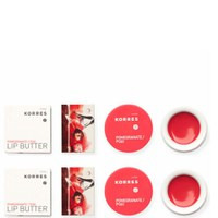 KORRES Lip Butter Pomegranate x2