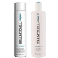 Paul Mitchell Awapuhi Shampoo (500ml) and The Detangler (500ml)