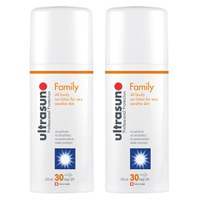 Dúo Ultrasun Family SPF 30 Super Sensitive (2 x 150 ml)