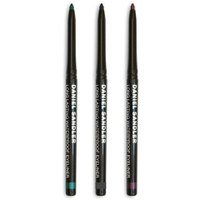 Daniel Sandler Waterproof Grey, Green and Purple Velvet Eye Liner Trio (Værdi £27.75)