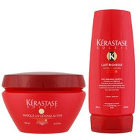 Kerastase Soleil Bain (250ml) og Masque UV Defense (200ml) Duo