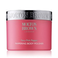 Molton Brown exfoliant corporel du poivre rose