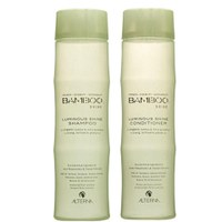 Dúo Champú y Acondicionador Luminous Shine de Alterna Bamboo (250 ml)