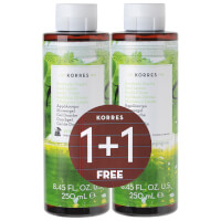 KORRES Limited Edition 1 + 1 바질, 레몬 Shower Gel 250ML (£ 16.00상당)