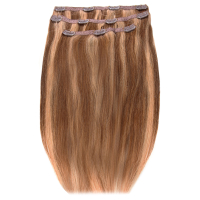 Beauty Works Deluxe Clip-In Hair Extensions 18 Inch - Tanned Blonde 10/14/16