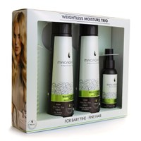 Macadamia Weightless Moisture Trio With Comb
