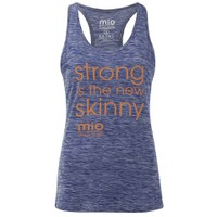 Mio Skincare Women's Performance Slogan Vest - Blue