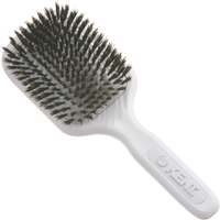 Kent AH13W AirHeadz Medium Pure Bristle Paddle Hair Brush - vit